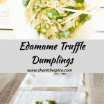 Edamame Truffle Dumplings