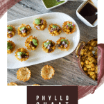 Phyllo Chaat Cups