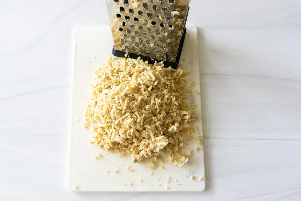 shredded tempeh